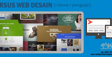 Kursus Web Desain Bali